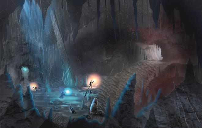 Fall Cave by Dante Cifaldi